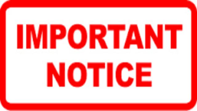 Notice 16-04-2020