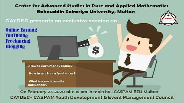 """An Exclusive Session on """"Online Earning"""""""