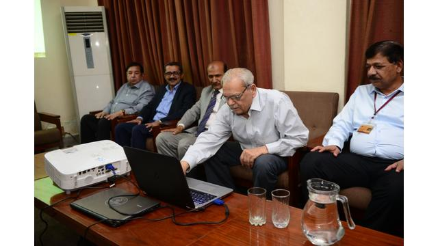 Launching Ceremony of Website