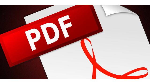 PDF reader updated